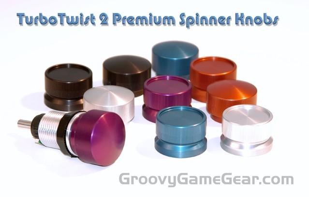 New TurboTwist 2 Spinner Knobs - GroovyGameGear