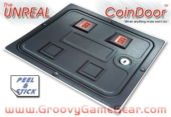 The Unreal Coindoor Unrealcd01 Groovygamegear Com