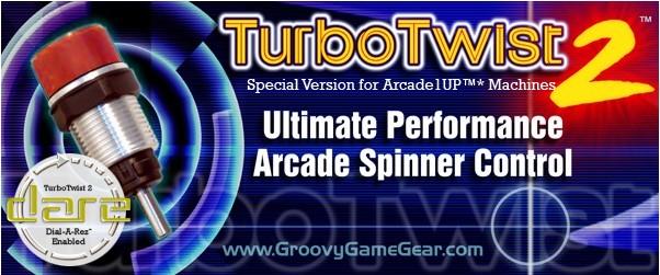 TurboTwist 2 Arcade Spinner Control for Arcade1UP™* Machines